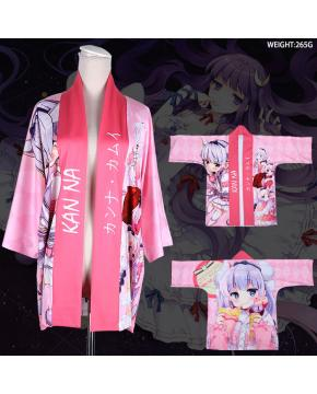 Miss Kobayashi's Dragon Maid Maid Dragon Full Color Cloak Kimono Need 2 days prepare