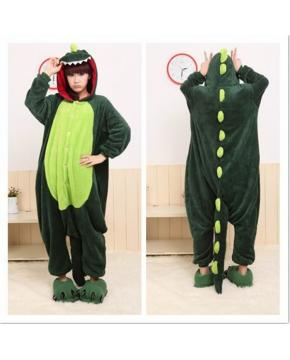 Dinosuar HoodieS Mantle Onesie Pajamas K...