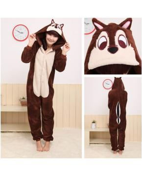 Chipmuck HoodieS Mantle Onesie Pajamas K...