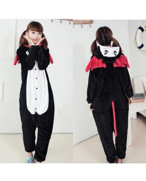 Anime Flano Flannel Rompers Hoodies Mant...