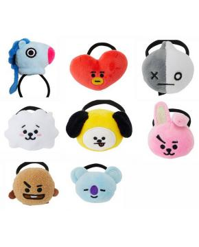 K-POP BTS Plush Hair Bands price for 40 ...