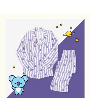 K-POP BTS Pajama Set Lightweight and Com...