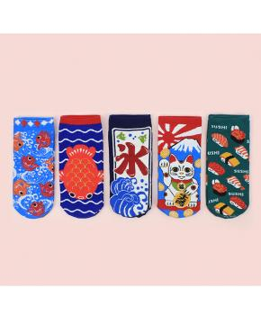 Japanese Styles Anime Socks price for 6 ...