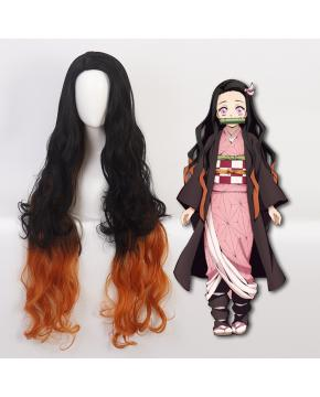 Demon Slayer Kimetsu no Yaiba Cos Wig Ka...