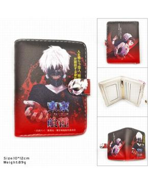 SH-133 Toyko Ghoul Wallet PU Short Walle...