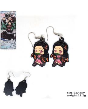Demon Slayer Kimetsu no Yaiba Earrings A...