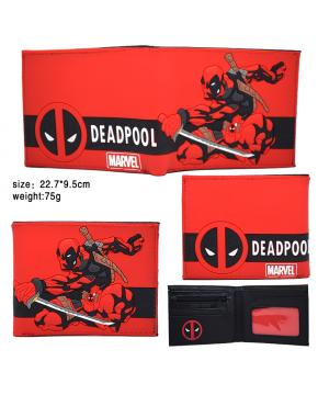 Marvel Comics Deadpool Wallet Red PVC 22...
