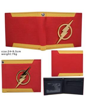 DC Comics Flash Wallet Red 24X9.5CM 76G