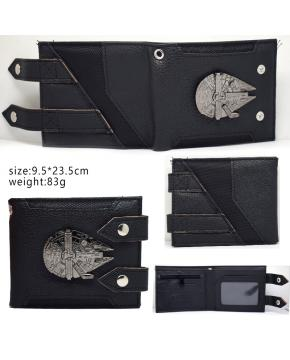 Star Wars Wallet Black 9.5X23.5CM 83G