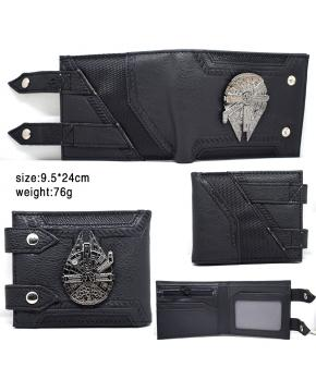 Star Wars Wallet Black 9.5X24CM 76G