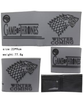 Game of Thrones Silicone Wallet