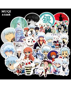 Gintama Stickers price for 5 sets 50ps a...