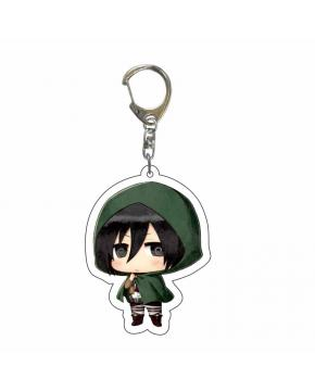 Attack on Titan Acrylic Key Chain price for 5 pcs 5.5cm 4420