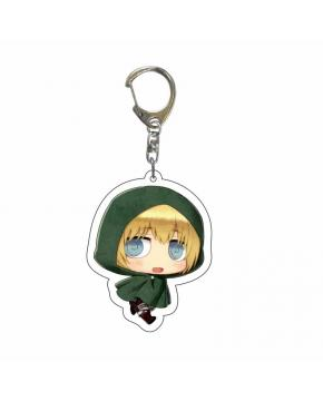 Attack on Titan Acrylic Key Chain price for 5 pcs 5.5cm 4421